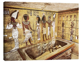 Stampa su tela  Grave of Tutankhamun in the Valley of the Kings
