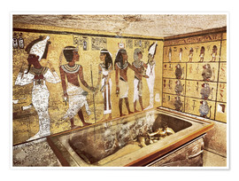 Poster Premium  Grave of Tutankhamun in the Valley of the Kings