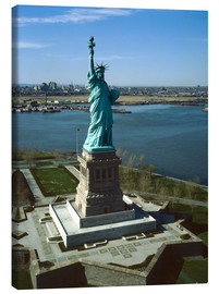 Stampa su tela  Statue of Liberty in New York, 1978