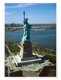 Poster Premium  Statue of Liberty in New York, 1978