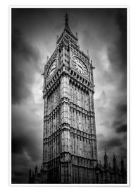 Poster Premium  Big Ben London - Melanie Viola