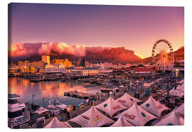 Stampa su tela  Victoria & Alfred Waterfront, Cape Town, South Africa - Stefan Becker