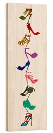Stampa su legno  Let's Party - Shuya Cheng