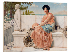 Stampa su legno  In The Days Of Sappho - John William Godward