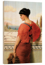 Stampa su legno  Phyleis - John William Godward