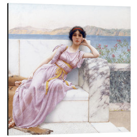 Stampa su alluminio  Eighty and eighteen - John William Godward