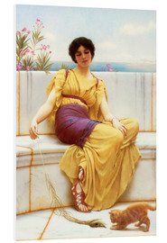 Stampa su schiuma dura  Indolenza - John William Godward