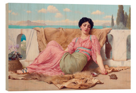 John William Godward - A Quiet Pet