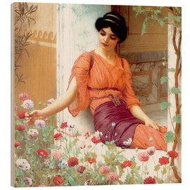 Legno  Summer Flowers - John William Godward