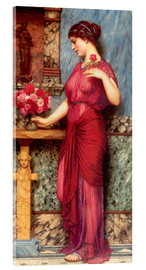 Stampa su vetro acrilico  An Offering To Venus - John William Godward