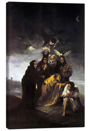 Tela  The Spell, The Witches - Francisco José de Goya