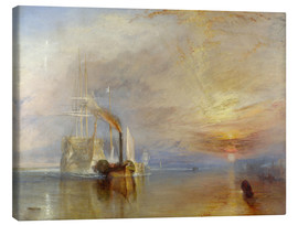 Tela  The fighting Temeraire - Joseph Mallord William Turner