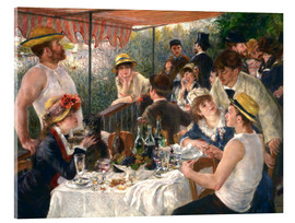 Vetro acrilico  Luncheon of the boating party - Pierre-Auguste Renoir