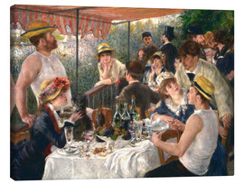 Tela  Luncheon of the boating party - Pierre-Auguste Renoir