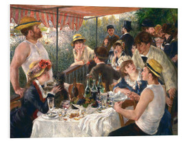Forex  Luncheon of the boating party - Pierre-Auguste Renoir
