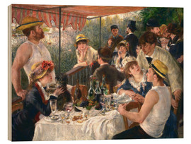 Legno  Luncheon of the boating party - Pierre-Auguste Renoir