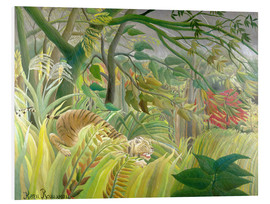 Forex  Tiger in a tropical storm - Henri Rousseau