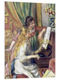 Forex  Two girls at the piano - Pierre-Auguste Renoir