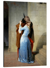 Alluminio Dibond  The kiss - Francesco Hayez
