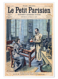 Poster Premium  Pierre and Marie Curie