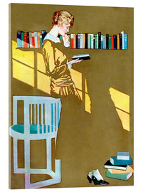 Clarence Coles Phillips - Read before the Bookshelf