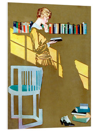 Forex  Read before the Bookshelf - Clarence Coles Phillips