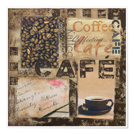 Poster Premium  Cafe - Andrea Haase