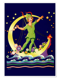 Poster Premium  Peter Pan - Lawson Fenerty