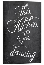 Tela  This kitchen is for dancing - GreenNest