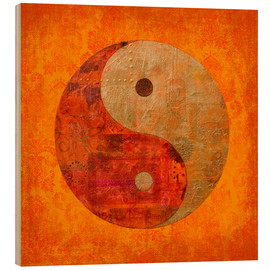 Legno  yin and yang - Andrea Haase