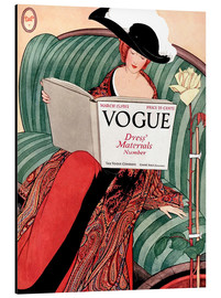Stampa su alluminio  Die Vogue   Vintage opulent - Advertising Collection