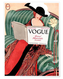 Poster Premium  Die Vogue   Vintage opulent - Advertising Collection
