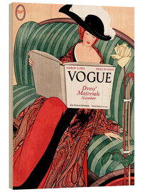 Stampa su legno  Die Vogue   Vintage opulent - Advertising Collection