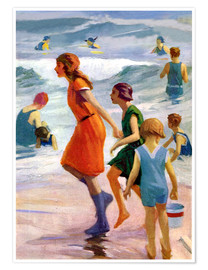 Poster Premium  Our day at the beach