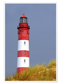 Poster Premium red Lighthouse