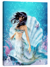 Stampa su tela  Mermaid Fenja - Dolphins DreamDesign