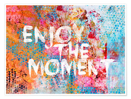 Poster Premium Enjoy the moment