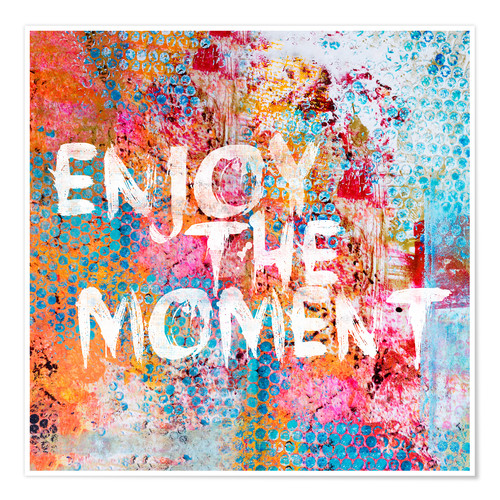 Poster Premium Enjoy the moment II