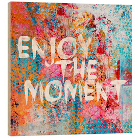 Stampa su legno  Enjoy the moment II - Andrea Haase