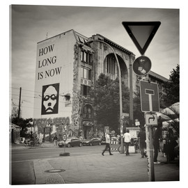 Vetro acrilico  Berlin - Oranienburger Strasse (Analogue Photography) - Alexander Voss