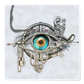 Poster  Mechanical eye - diuno
