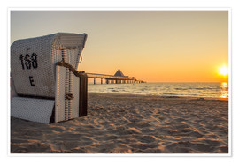 Dennis Stracke - Beach chair on Usedom