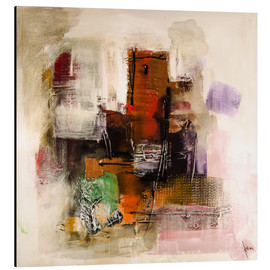 Stampa su alluminio  Abstract painting on canvas - modern and contemporary - Michael artefacti
