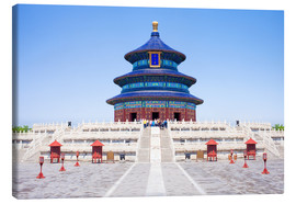 Stampa su tela  Temple of Heaven in Beijing - Jan Christopher Becke