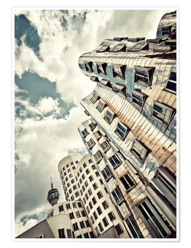Poster Premium Gehry Duesseldorf | 02 (variant)
