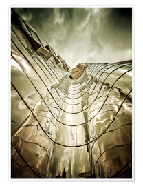 Poster Premium Gehry Duesseldorf | 03