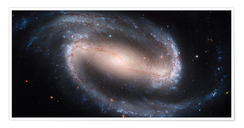 Poster Premium Barred Spiral Galaxy NGC 1300