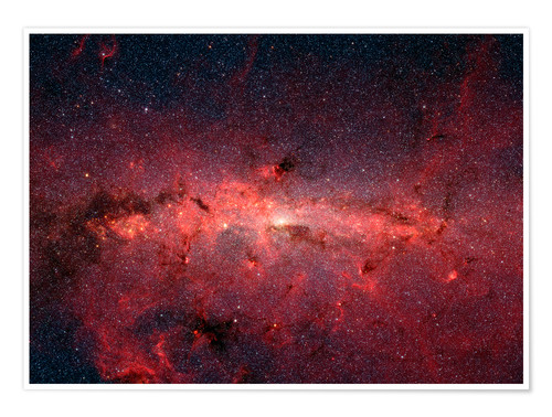 Poster Premium The center of the Milky Way