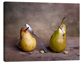 Stampa su tela  Simple Things - Pears - Nailia Schwarz
