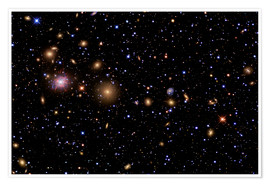 Poster Premium The Perseus Galaxy Cluster